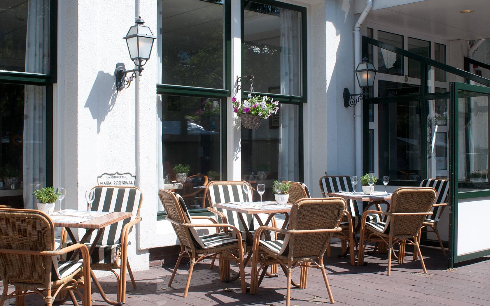 Terrace - Hotel de Burg